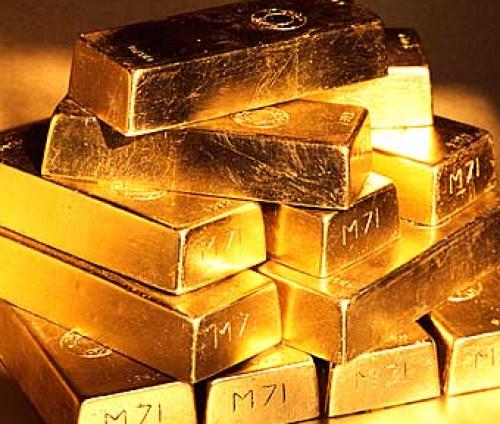 تراجع الذهب عقب تراجع النفط في نييورك