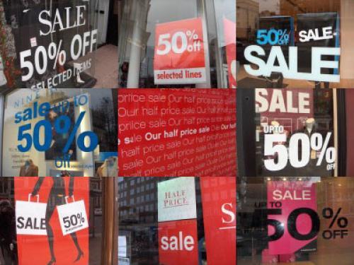 مبيعات التجزئة الأمريكية و تراجع في يوليو