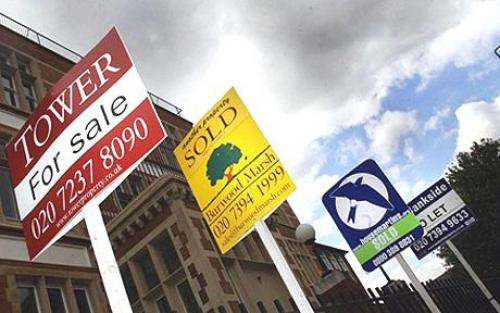 هبوط أسعار المنازل يعلن توقف تعافي سوق الإسكان البريطاني في 2010