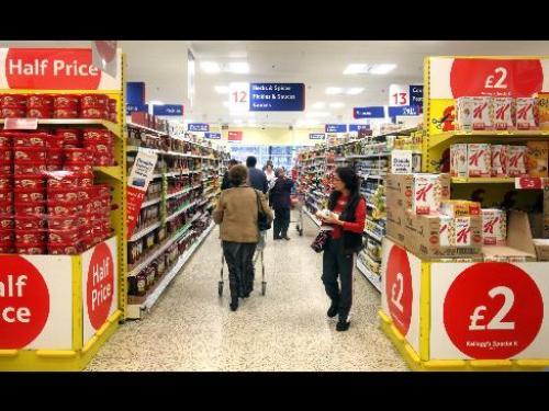 ارتفاع مؤشر أسعار التجزئة للمملكة المتحدة