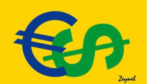 الدولار الأمريكي عند أدنى مستوى منذ 3 أسابيع مقابل اليورو