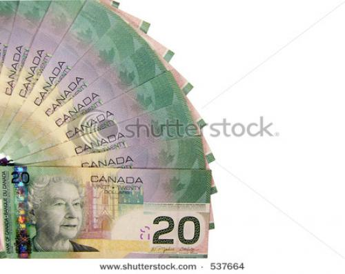 ضعف الدولار يتسبب في هبوط حاد للـ (الدولار / دولار كندي)