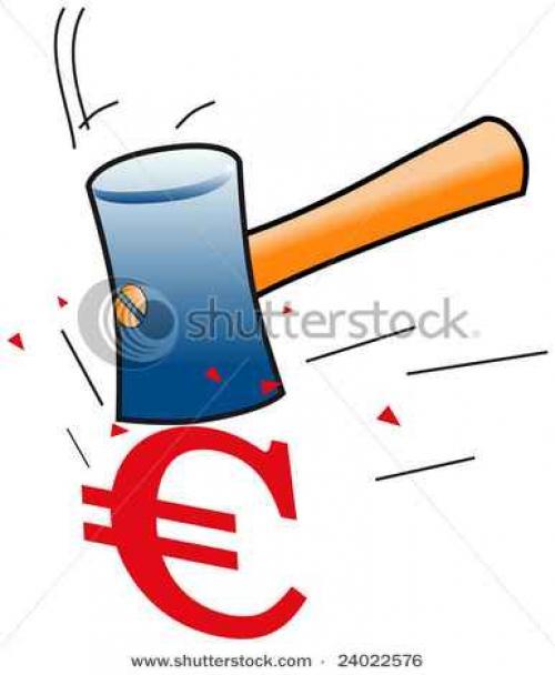 (اليورو / دولار)  يصارع الهبوط بالقرب من 1.3900