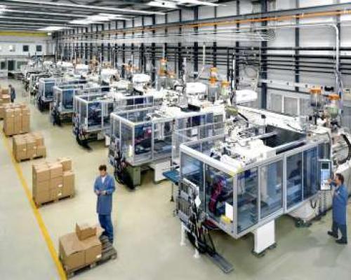 الإنتاج الصناعي الألماني على غير المتوقع