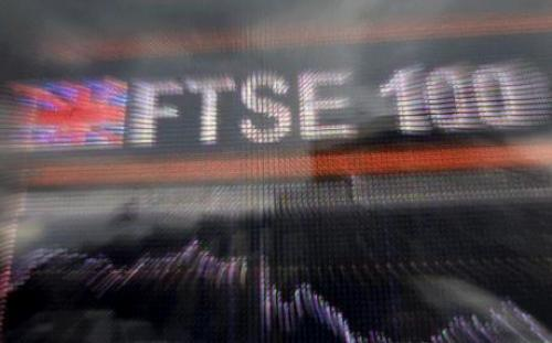 مؤشر FTSE 100 يحيد نحو الاتجاه السلبي