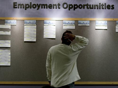 ارتفاع مؤشر إعانات البطالة الأمريكية دون المتوقّع