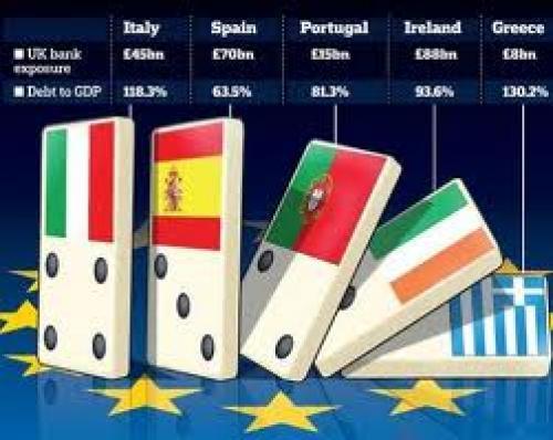 عودة أزمة منطقة اليورو إلى دائرة الضوء عقب خفض التصنيف الائتماني