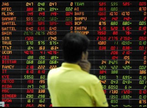 الأسواق الآسيوية تتراجع إثر مخاوف منطقة اليورو