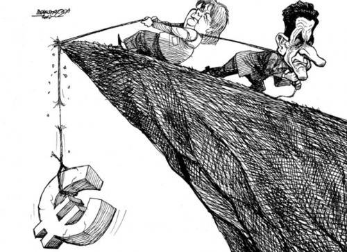 اليورو يتراجع إثر خلافات الساسة اليونانيون