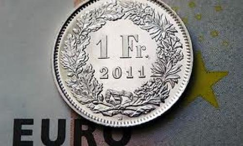 تراجع الزوج (يورو/ فرنك ) بنسبة 0.01%