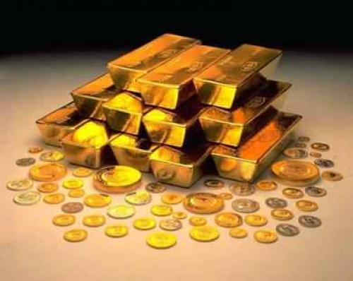 العقود الآجلة للذهب تتراجع بارتفاع الدولار