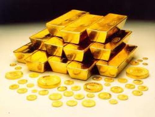 ارتفاع العقود الآجلة للذهب