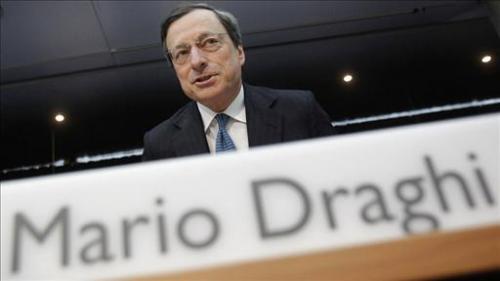 البنك المركزي الأوروبي يبقي على معدلات الفائدة وسط ترقب تعليقات دراجي