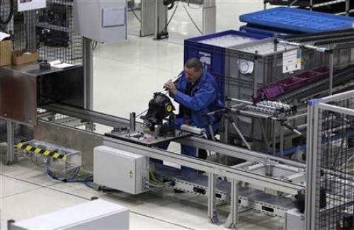 انخفاض مؤشر PMI التصنيعي الألماني أقل من المتوقع