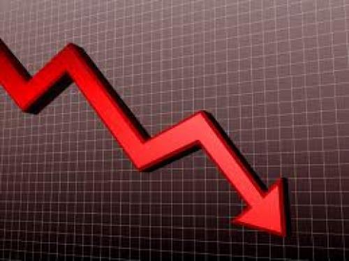 هبوط الأسهم الأمريكية