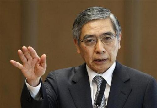 "تصريحات ""كورودا"" محافظ بنك اليابان"