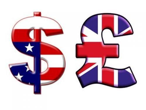 ارتفاع الجنية الاسترليني مقابل الدولار الأمريكي