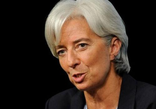 """تصريحات """"كريستين لاجارد"""" مديرة صندوق النقد الدولي"""