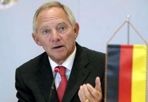 """تصريحات """" فولفغانغ شويبله"""" وزير المالية الألماني"""
