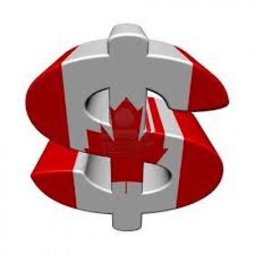 ارتفاع الدولار الكندي مقابل نظيره الأمريكي