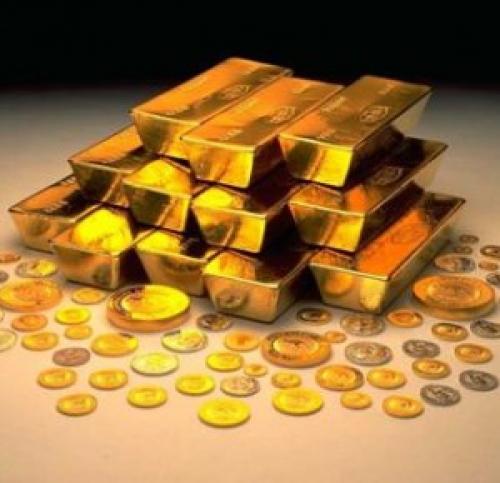 الذهب بالقرب من أعلى مستوياته على مدار اليوم