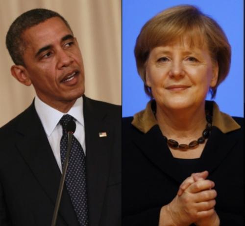 """نتائج لقاء """"أوباما"""" و """"ميريكل"""" حيال الأزمة في أوكرانيا"""