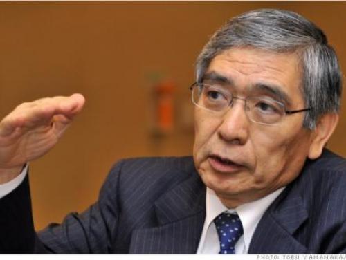 كورودا: تعافي الاقتصادي الياباني يسير بنحو معتدل