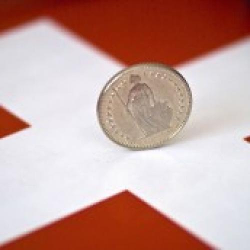 تراجع الناتج المحلي الإجمالي السويسري