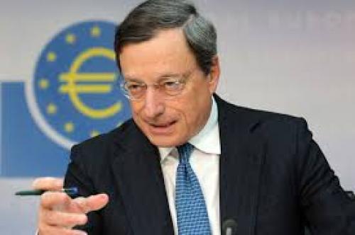 """""""دراجي"""": مخاطر التضخم تعتبر محدودة"""