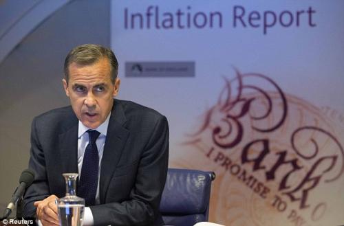 كارني: توقعات إجمالي الناتج المحلي غير مؤكدة بعد