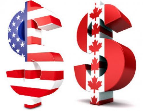نظرة على تداولات الدولار كندي