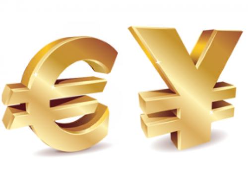 نظرة على تداولات اليورو ين
