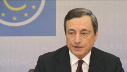 """""""دراجي"""" رأى البنك المركزي الأوربي تراجع معدلات التضخم في ضوء المؤشرات الأخيرة."""