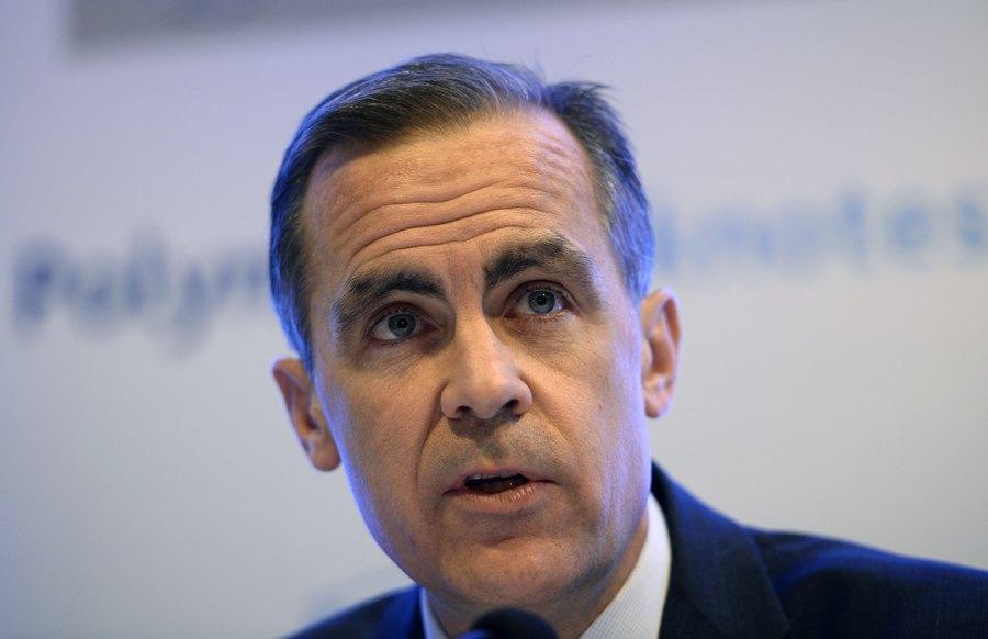 كارني: بنك إنجلترا يركز على أسوأ السيناريوهات المحتملة للبريكست