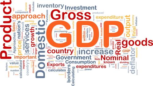 خفض توقعات إجمالي الناتج المحلي الأمريكي