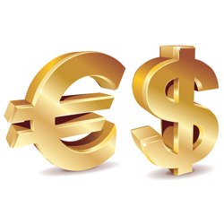 تراجع اليورو دولار عقب نتائج اجتماع لجنة السياسة النقدية