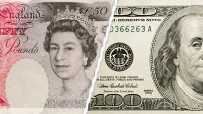 الدولار يرتفع أمام الاسترلينى عقب البيانات