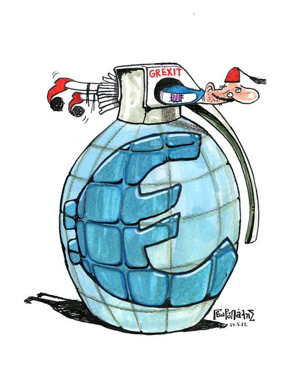 رسم توضيحي لمصير القروض المقدمة لليونان منذ 2010