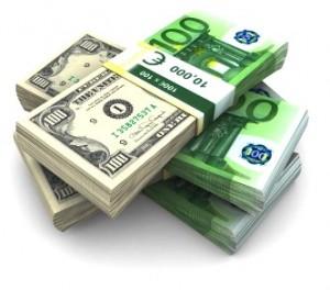زوج اليورو دولار يرتفع خلال تدولات اليوم قرابة 1.17