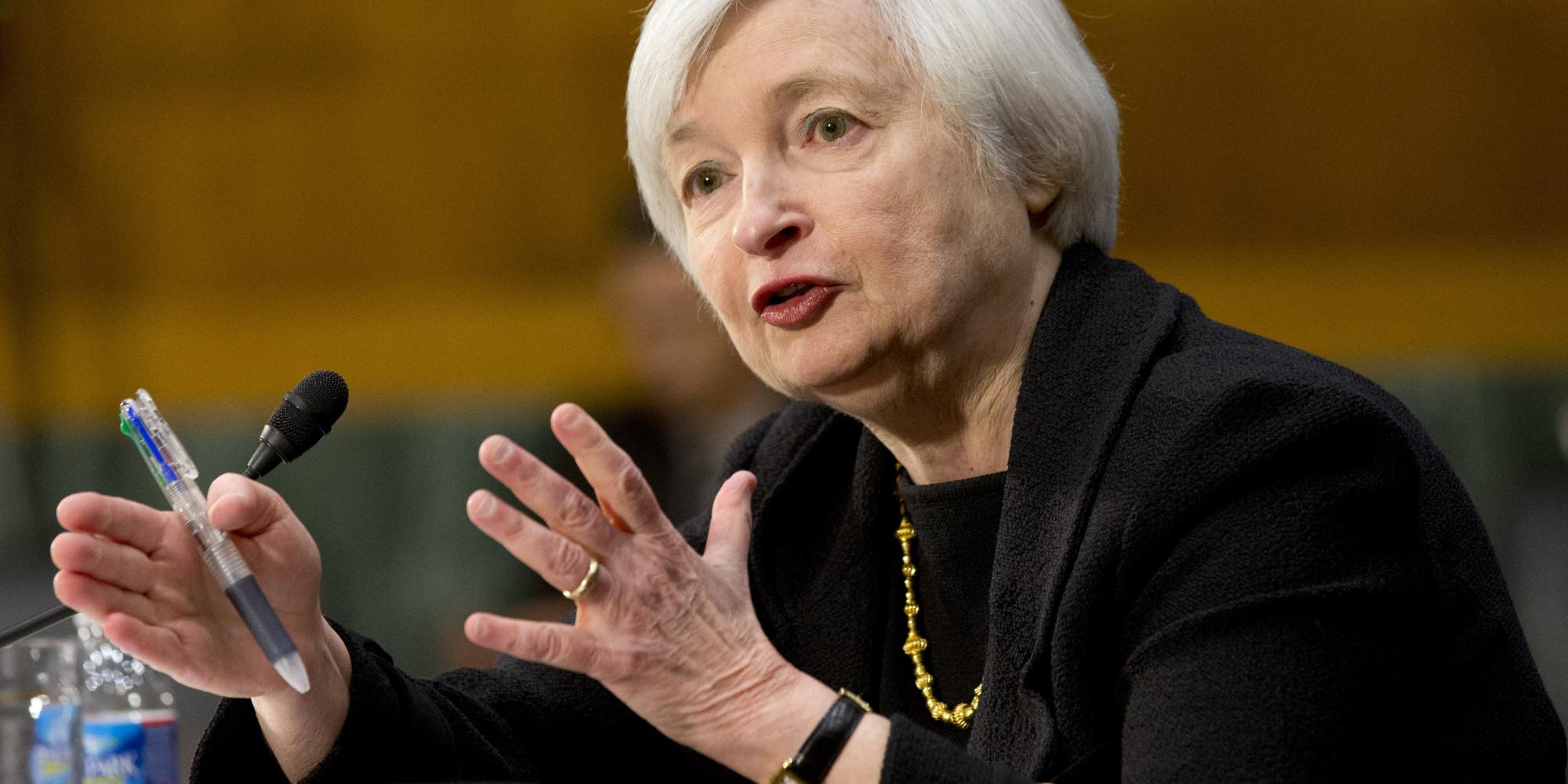 أبرز نقاط نص شهادة يلين محافظ الاحتياطي الفيدرالي أمام الكونجرس