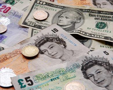 تقلص عجز الحساب الجاري البريطاني