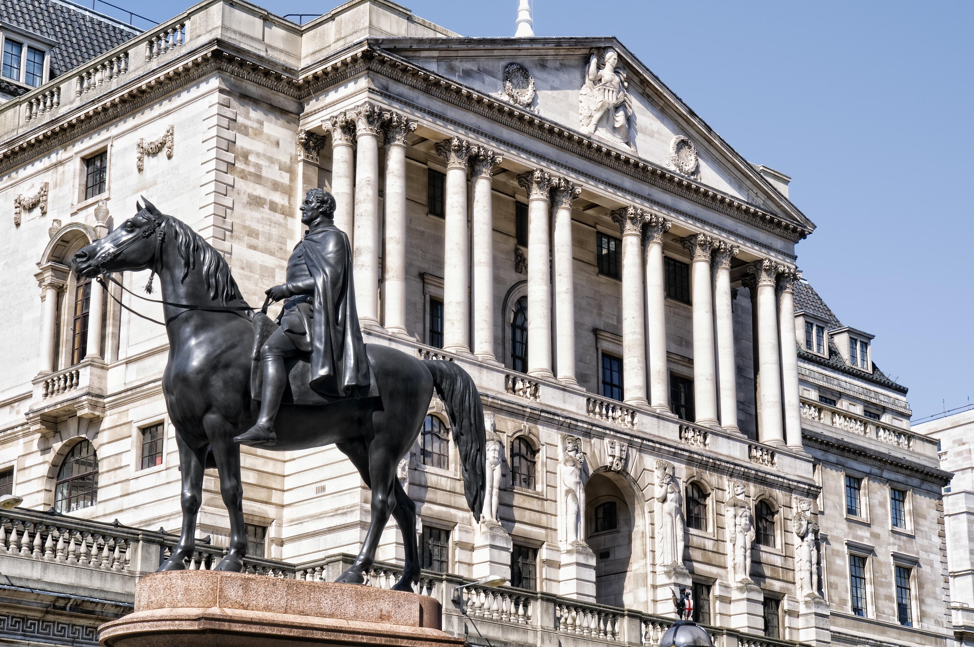 بنك انجلترا يعرب عن قلقه بشأن قوة الجنيه الاسترليني