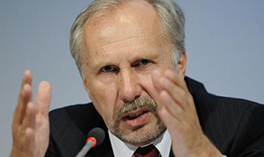 نوفوتني: تراجع قيمة اليورو أمراً جيداً للصادرات
