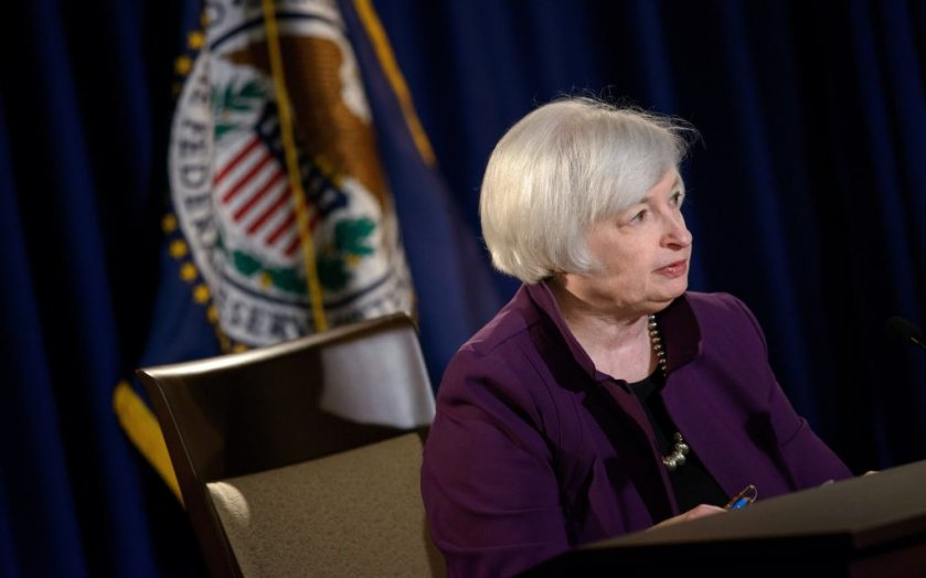 يلين: يتوقع معظم أعضاء الاحتياطي الفيدرالي أن يتم رفع الفائدة تدريجيًا