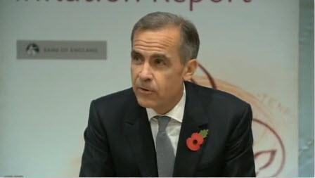 التغطية الحية لحديث كارني، محافظ بنك انجلترا حول تقرير التضخم