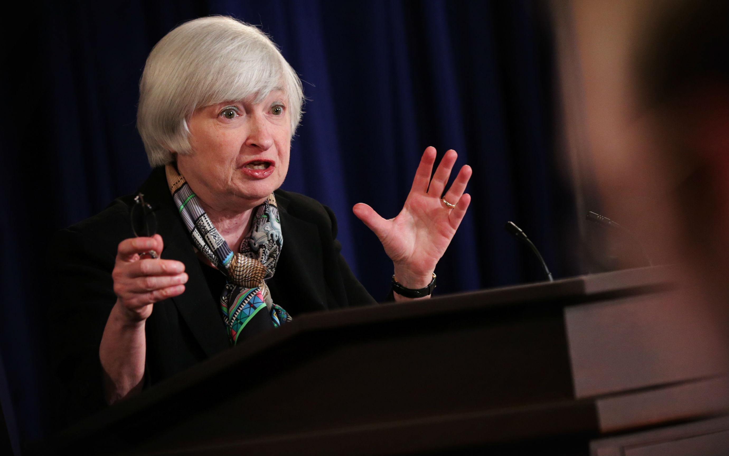 التالي على المفكرة الاقتصادية: خطاب يلين محافظ الفيدرالي الأمريكي
