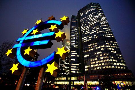 حصيلة مشتريات المركزي الأوروبي من السندات ترتفع إلى 419 مليار يورو