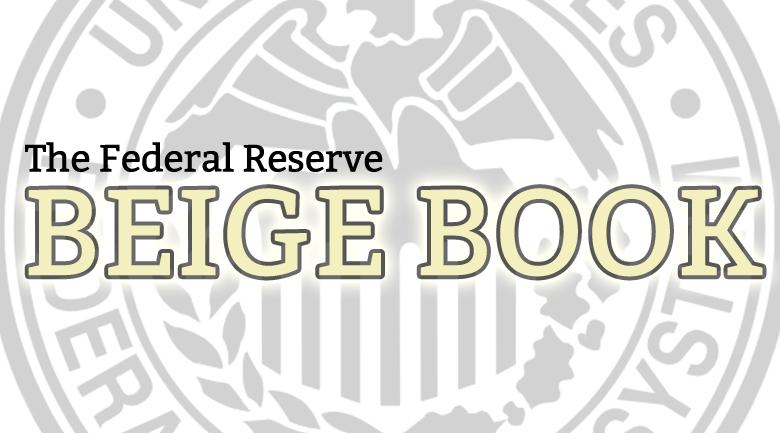 أهم نقاط البيج بوك  Beige Book الصادر عن الاحتياطي الفيدرالي الأمريكي