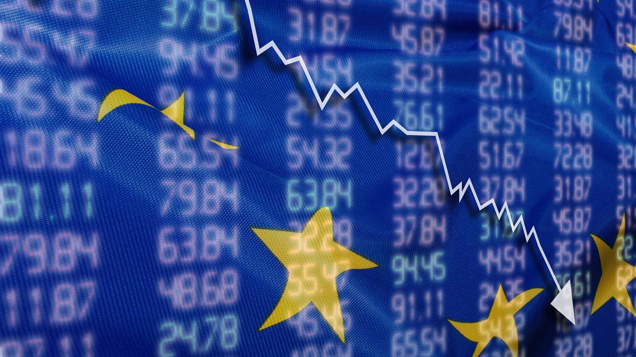 تراجع جماعي للأسهم الأوروبية في ختام جلسة اليوم