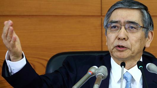 محافظ بنك اليابان يرحب بتكنولوجيا القطاع المالي